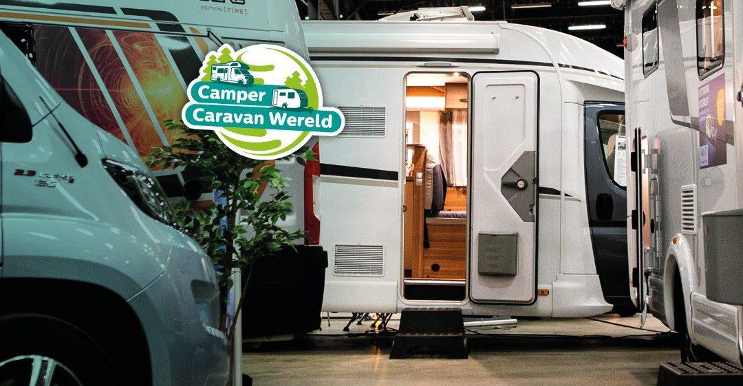 Wij staan op Camper Caravan Wereld in Expo Assen!
